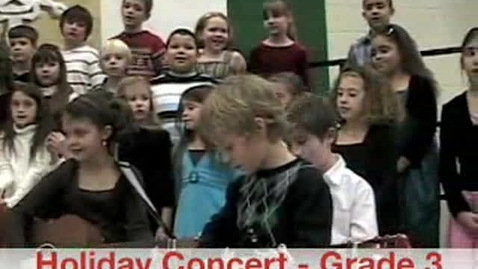 Thumbnail for entry Holiday Concert - Gr. 3 - 2008