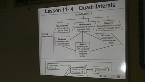 Thumbnail for entry PA Lesson 11-4 Quadrilaterals