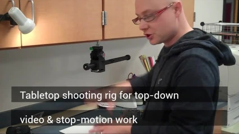Thumbnail for entry Tabletop shooting rig explained