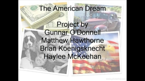 Thumbnail for entry American Dream Photostory