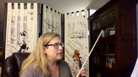 Thumbnail for entry Toccatina for Violin