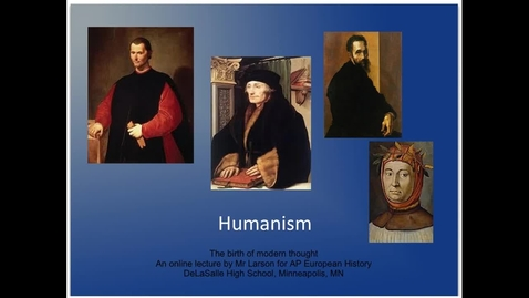 Thumbnail for entry Humanism