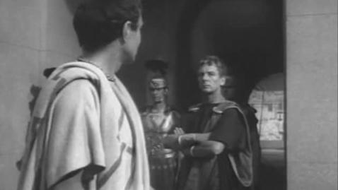 Thumbnail for entry We should totally just STAB CAESAR! (Julius Caesar 1953)