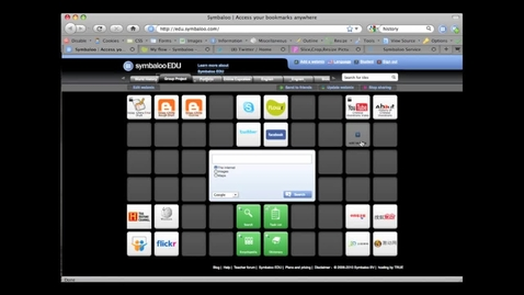 Thumbnail for entry SymbalooEDU Screencast: Using SymbalooEDU for Group Projects