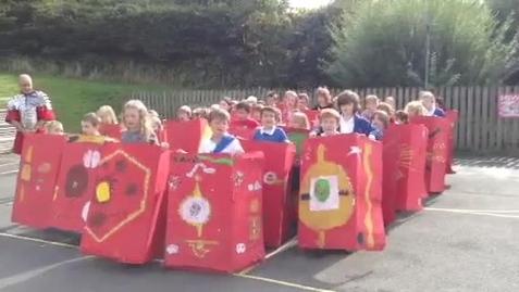 Thumbnail for entry Class 3 Roman Shields