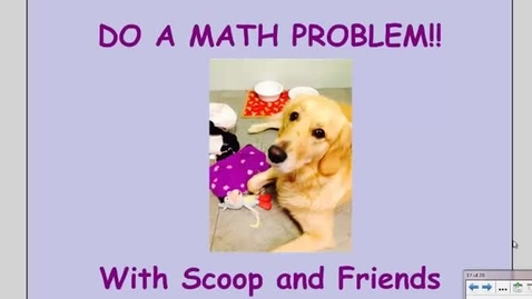 Thumbnail for entry Monday - 3rd Grade Multiplication Word Problem with an Array