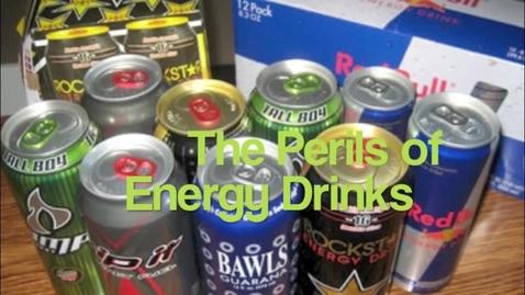 Thumbnail for entry Perils of Energy Drinks PSA