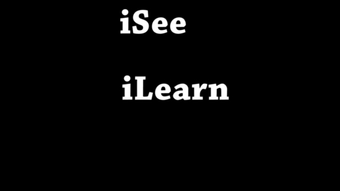 Thumbnail for entry iSee iLearn iPad