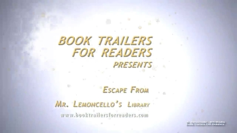 Thumbnail for entry Escape From Mr. Lemoncello's Library Book Trailer