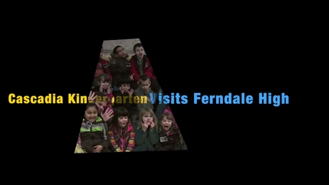 Thumbnail for entry FFA Week Kindergarten tours of Ferndale High School