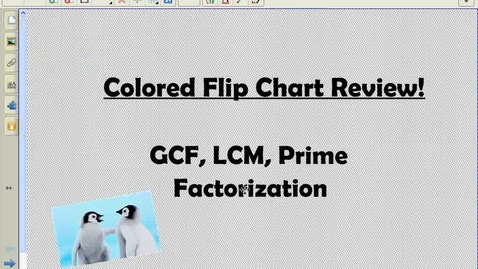Thumbnail for entry FlipChart Review