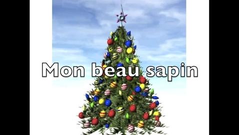 Thumbnail for entry Mon beau sapin