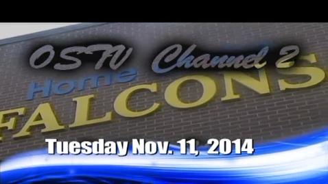 Thumbnail for entry The Falcon Daily  Tuesday, November 11, 2014