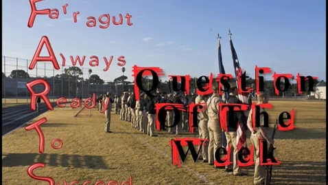 Thumbnail for entry Farragut Always Ready To Succeed