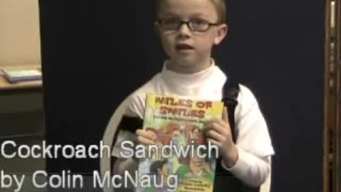 Thumbnail for entry Cockroach Sandwich