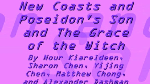 Thumbnail for entry The Odyssey: New Coasts and Poseidon's Son & The Grace of the Witch