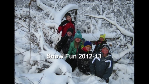 Thumbnail for entry Winter Fun in Second Grade 2012-13