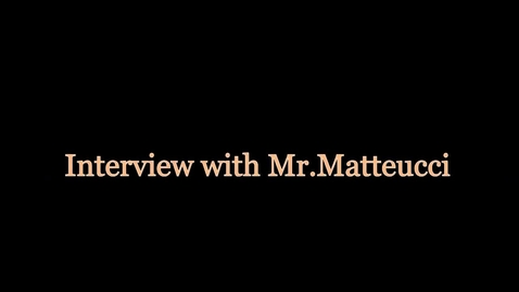 Thumbnail for entry Gary Matteucci