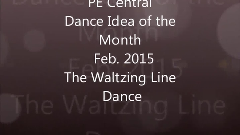 Thumbnail for entry Waltzing Line Dance