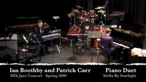 Thumbnail for entry HFA Jazz Piano Duet