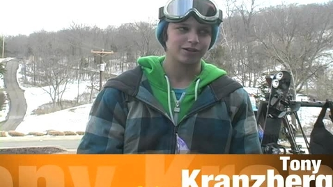 Thumbnail for entry Feature on Snowboarder Tony Kranzberg