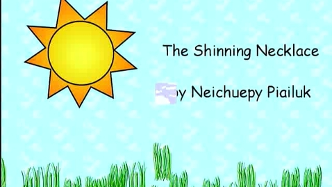 Thumbnail for entry The Shinning Necklace