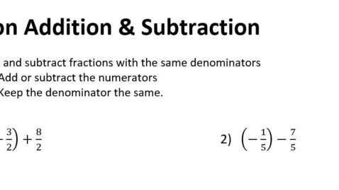 Thumbnail for entry 1-6 Fraction Operations