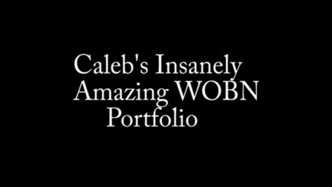 Thumbnail for entry Caleb McNitt Portfolio 2013