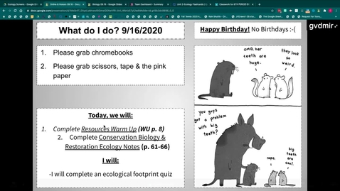 Thumbnail for entry Conservation Biology Notes