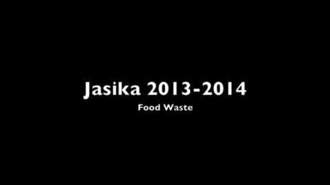 Thumbnail for entry Food waste, Rifah Jasika