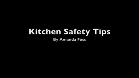 Thumbnail for entry Kitchen Safety