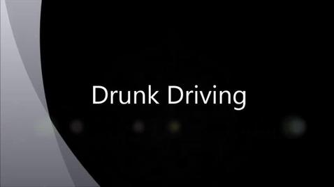 Thumbnail for entry Drunk Driving-Slavens