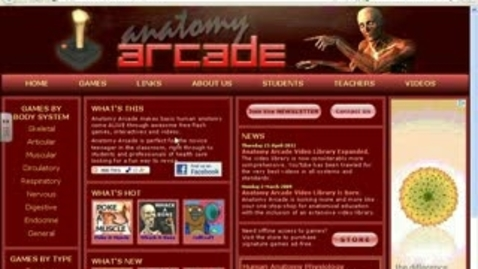 Thumbnail for entry Anatomy Arcade Tour for Abdominal Core Muscles & Bones