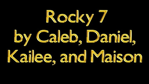 Thumbnail for entry Rocky movie trailer