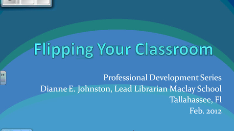 Thumbnail for entry Flipping Your Classroom