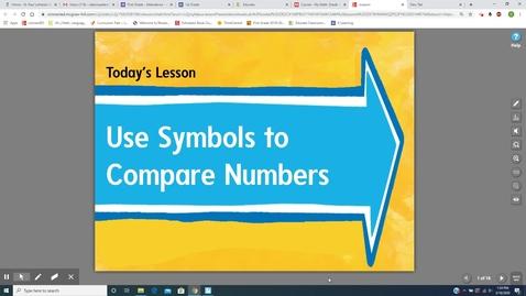 Thumbnail for entry Math Lesson 3_18_2020  Mrs. DeSimpelare