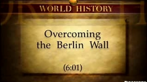 Thumbnail for entry Overcoming the Berlin Wall