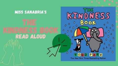 Thumbnail for entry The Kindness Book | Read Aloud