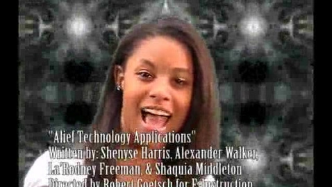 Thumbnail for entry Alief Technology Applications