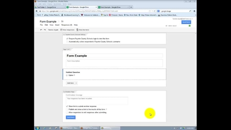 Thumbnail for entry GOOGLE = Composing Questions in Google Forms