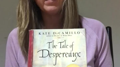 Thumbnail for entry Ms. Jill Brown, The Tale of Despereaux, chapters 43,44,45