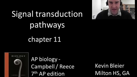 Thumbnail for entry Signal transduction pathways