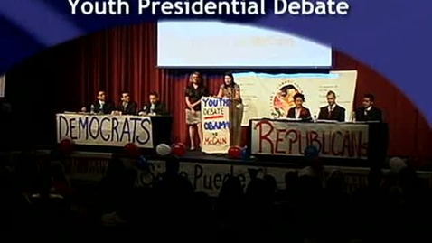 Thumbnail for entry Youth Presidential Debate