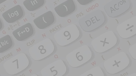 Thumbnail for entry Calculator Tutorial: Casio fx-9860GII Variables