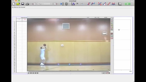 Thumbnail for entry video analysis of projectile part 2