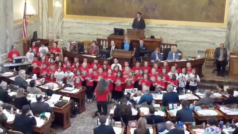 Thumbnail for entry Peace Choir.legislature