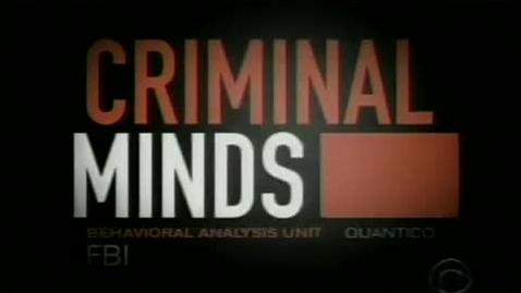Thumbnail for entry Criminal Minds Intro Season