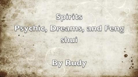 Thumbnail for entry Richardga Spirits Video