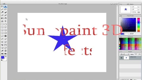 Thumbnail for entry Sumopaint 3D Filters