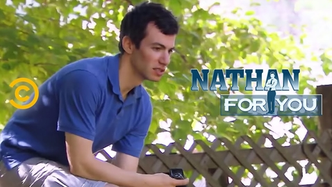 Thumbnail for entry Nathan For You - Petting Zoo Hero